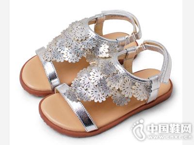 卡卡树夏季公主儿童凉鞋