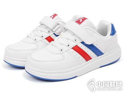 儿童透气小白鞋卡丁童鞋板鞋