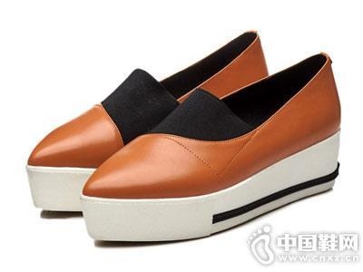 松糕鞋一脚蹬欧情派乐福鞋
