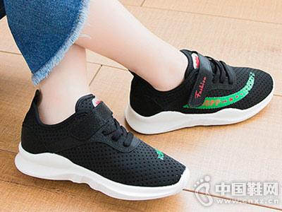 儿童白色运动鞋透气网鞋