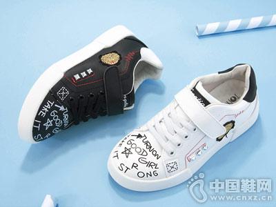 2018新款潮韩版童天百搭休闲鞋