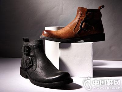 吉普森冬季男鞋英伦潮鞋朋克鞋