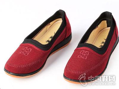 平底休闲鞋妈妈鞋步瀛斋老北京布鞋