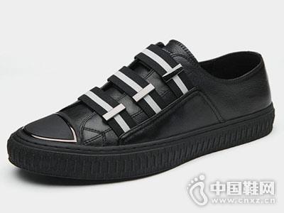 韩版潮流百搭透气板鞋澳伦2018新款