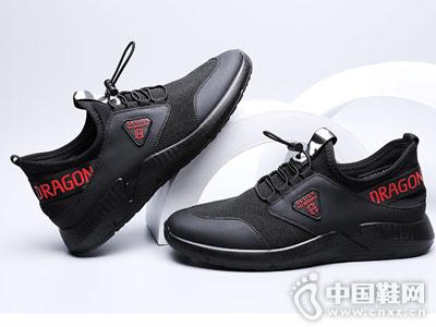 红蜻蜓运动休闲鞋男2018秋季新品