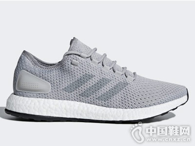 阿迪�_斯adidas PureBOOST Clima China 男子跑步鞋