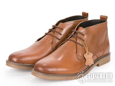 思莱德SELECTED新款商务休闲皮鞋