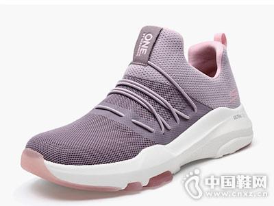 斯凯奇女鞋新款透气网布时尚平底鞋