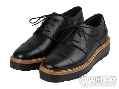 Nine West玖熙坡跟圆头单鞋