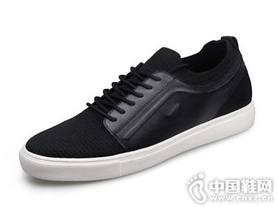 高哥内增高小白鞋男韩版透气网布