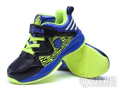 笨笨熊童鞋加绒运动鞋跑鞋