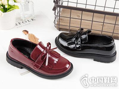 秋季新款皮鞋斯乃纳女童单鞋