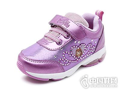 迪士尼童鞋运动鞋闪灯鞋2018秋季新款