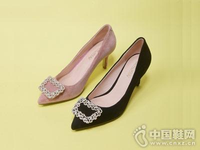 秋季高跟单鞋新品―摩熙米昵时尚女鞋