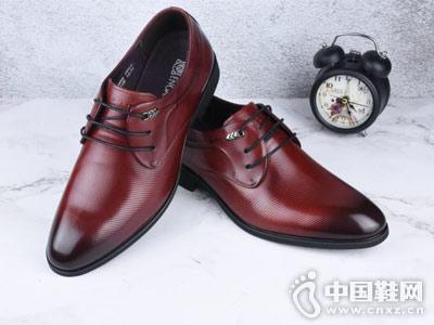 大公明皮鞋男式新款时尚