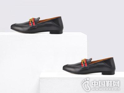 时尚深口鞋粗跟单鞋女鞋Classical卡斯高