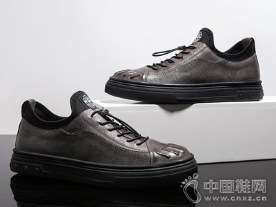韩版男士时尚潮流休闲鞋名郎百搭皮鞋