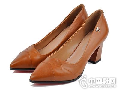新尖头浅口单鞋RD台湾红蜻蜓女鞋