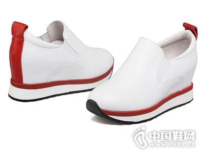 新款内增高休闲鞋 艾米奇乐福鞋
