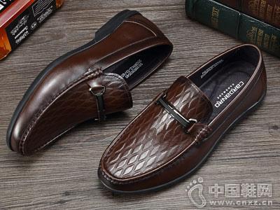 卡丹路男简约时尚舒适真皮皮鞋