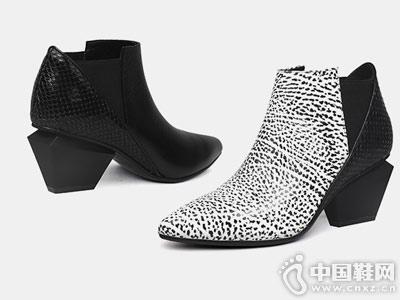 jadyrose新2018马丁靴裸靴