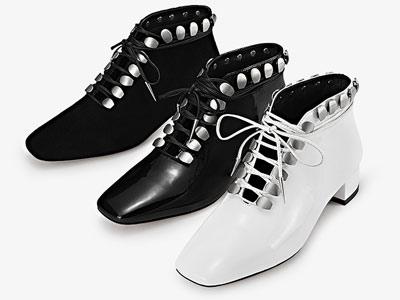 爱米高2018早秋新品真皮大底短靴