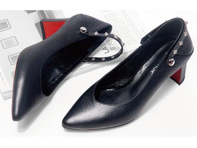 粗跟单鞋新款韩版酷斯沃玛丽珍鞋