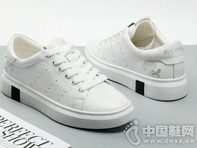 嘉俪多女鞋2018新款小白鞋