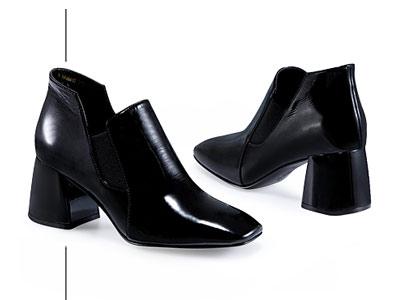 哈森 2018冬季新品欧美街头时尚女鞋