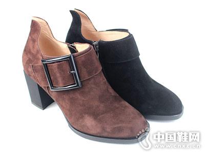 深口单鞋摩熙米昵冬季新款