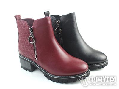 18秋冬新款摩熙米昵款短靴