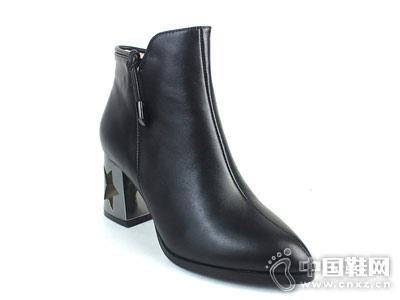 时尚短靴新款摩熙米昵百搭款