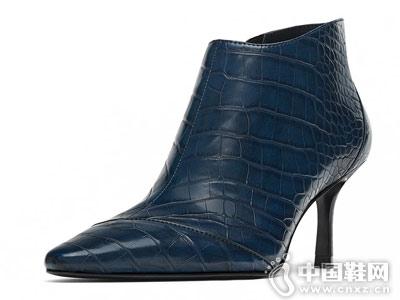 ZARA新款 TRF 女鞋 装饰性尖头短