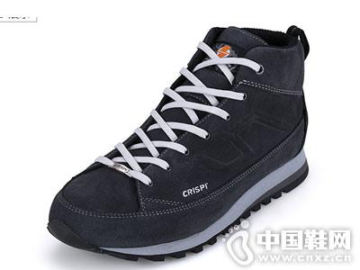 三夫户外CRISPI防泼水中帮徒步鞋