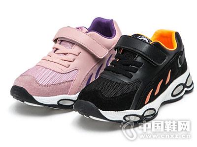 好榜样儿童运动鞋透气网鞋子2018新款