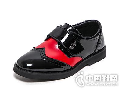 男童2018春秋时尚新款好榜样童鞋
