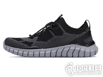 Skechers斯凯奇男鞋新款镂空低帮鞋