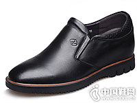田宇增高鞋男式6cm内增高皮鞋