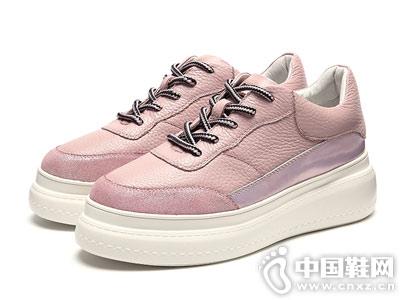 新款厚底小白鞋接吻猫运动鞋