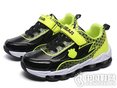 笨笨熊童鞋2018新款秋季中童运动鞋