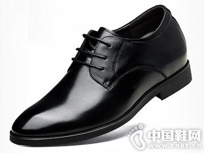高哥增高鞋男皮鞋秋季新款