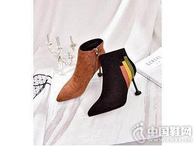 尖跟踝靴时尚新款摩熙米昵秋冬款