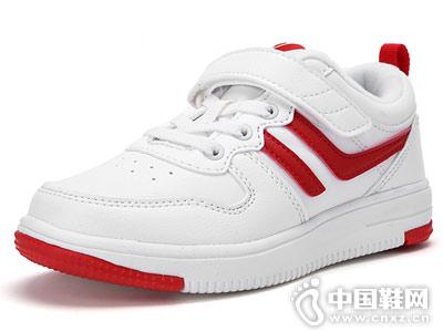 巴拉巴拉女童鞋小白鞋2018新款