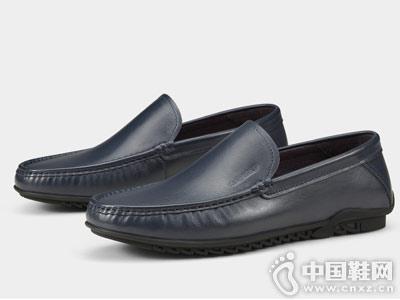 卡丹路2018新款真皮透气舒适驾车鞋