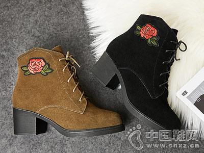 新款及裸靴加绒普兰妮马丁靴