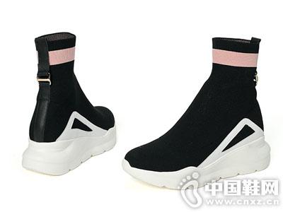 PTSON百田森2018冬季新款袜子靴