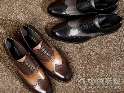 男雕花皮鞋男士休闲皮鞋爱得堡布洛克男鞋