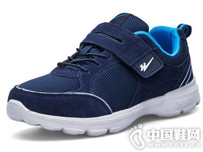 中老年健步鞋双星软底防滑运动鞋