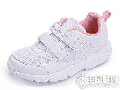 PEPCO小猪班纳新款儿童小白鞋