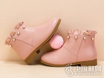 富罗迷女童靴子儿童马丁靴新款